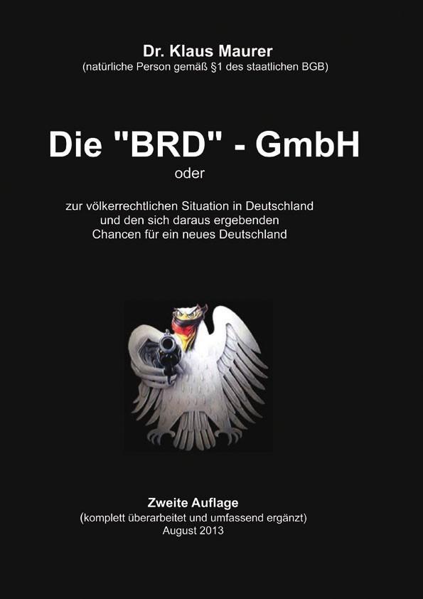 Die BRD-GmbH zweite Auflage